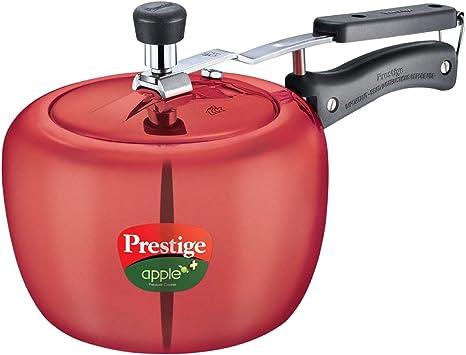 Amazon Com Prestige Apple Plus Aluminium Pressure Cooker 3 Litres Kitchen Dining