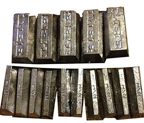 Clean Soft Lead Ingots Fluxed 15 Lbs - Lead Weight Mold