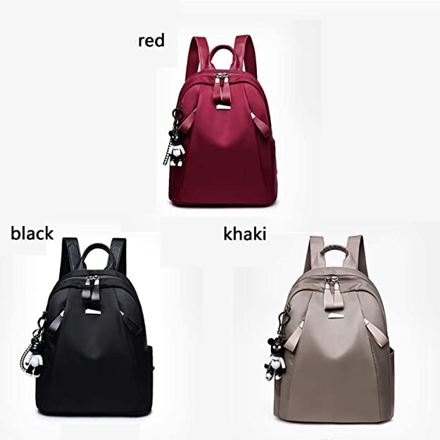 Amazon.com: Mochilas mujer 2018 New Oxford cloth waterproof student bag Travel casual backpack women outdoor bag mochila,black: Shoes