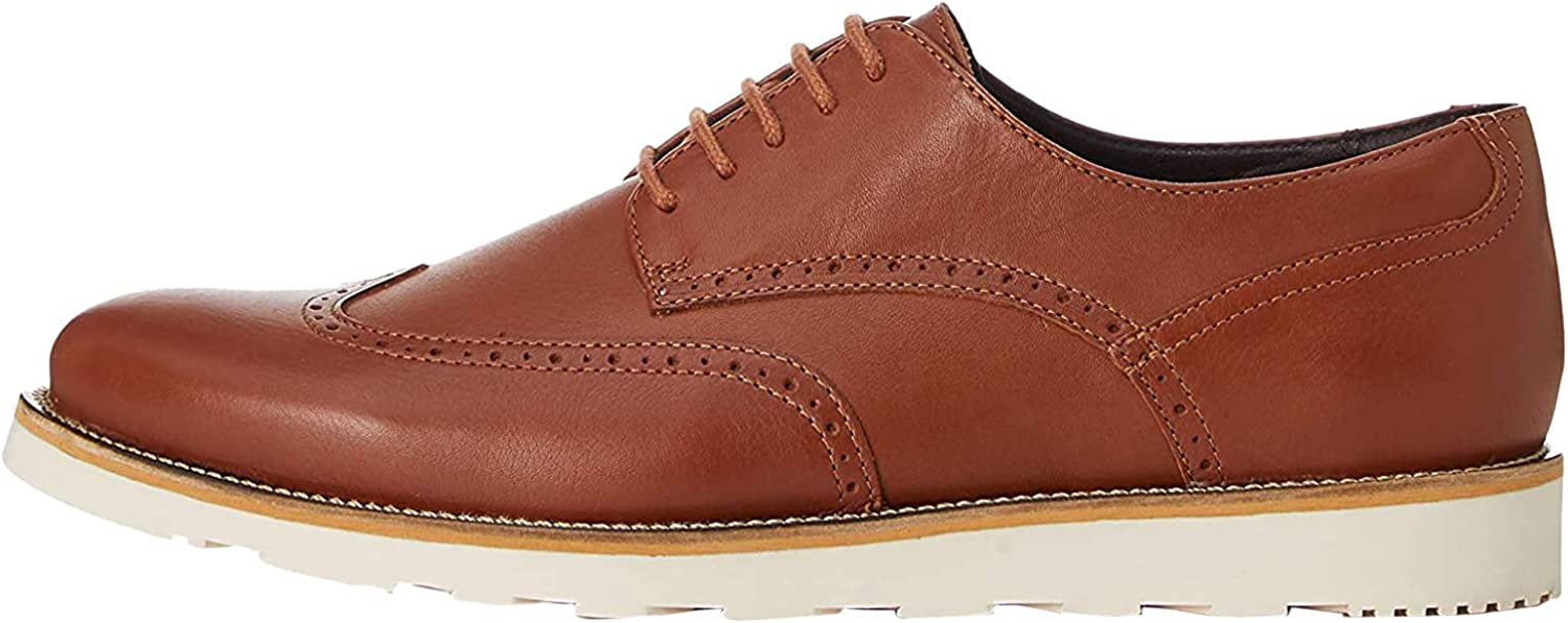 Marca Amazon - find. Hybrid Loafer - Zapatos de cordones brogue Hombre
