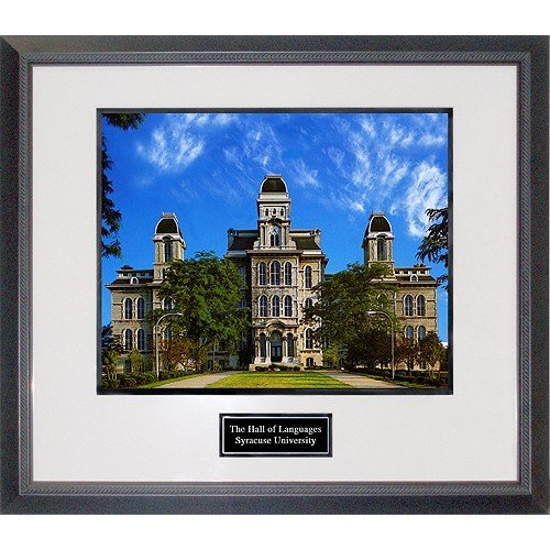 Syracuse University Hall of Languages Framed 16x20 Photograph by Biggsports
