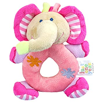 f91ac3364970 eonkoo Baby's First Wrist Rattle Learning Stuffed Animal Hand Bell Plush  Doll Toys for Kids Xmas Gift...