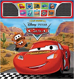 disney pixar cars stereo sound book editors of publications international ltd disney storybook artists amazoncom books - Disney Cars Books