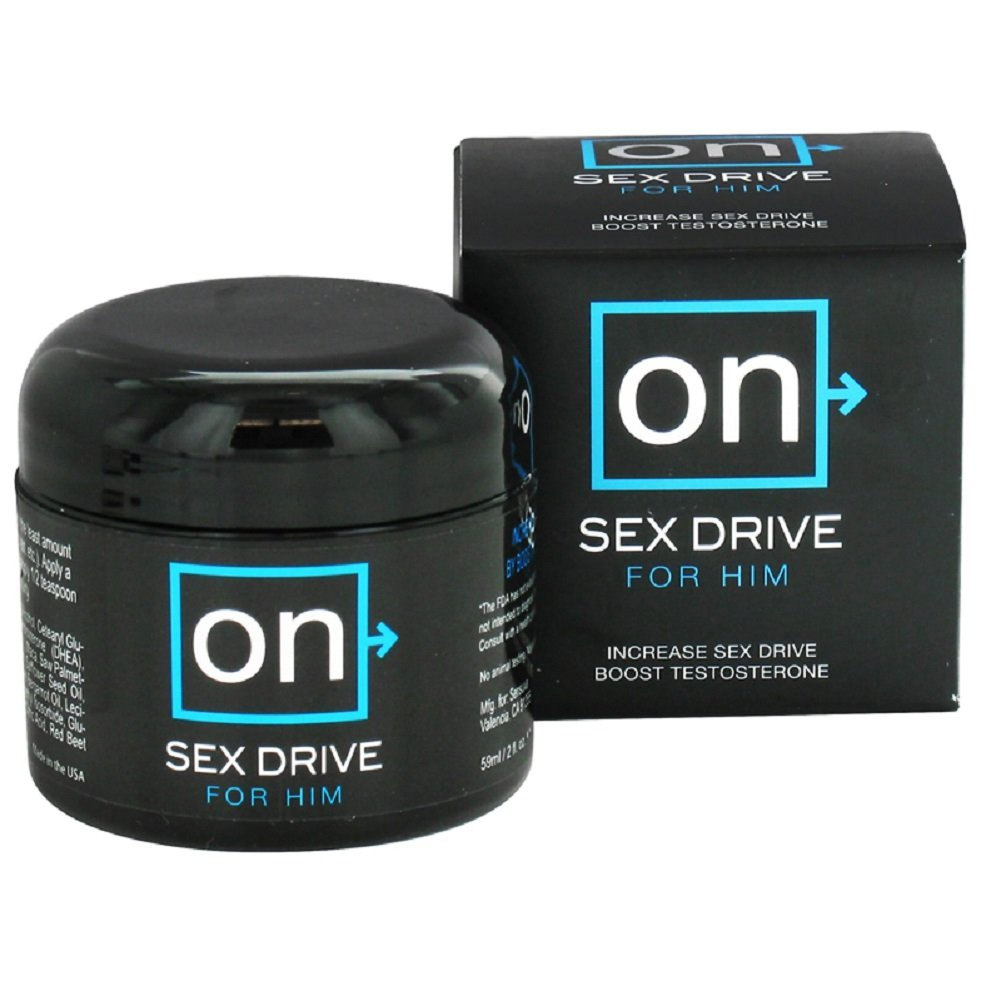 On sex drive for him