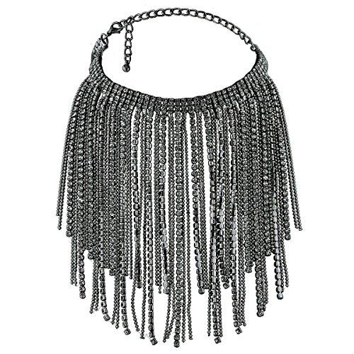 Heyou Love Glitter Crystal Rhinestone Sexy Chain Choker Necklace