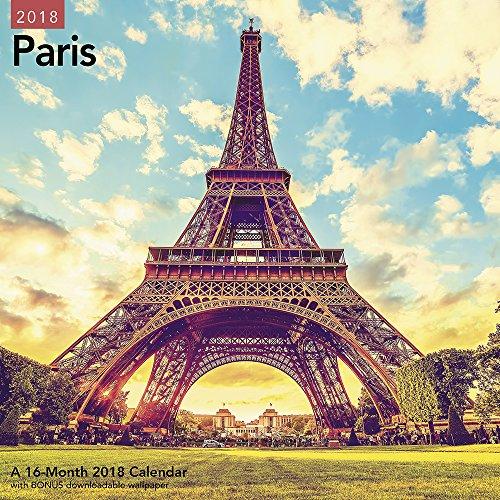 2018 Paris Wall Calendar (Mead)