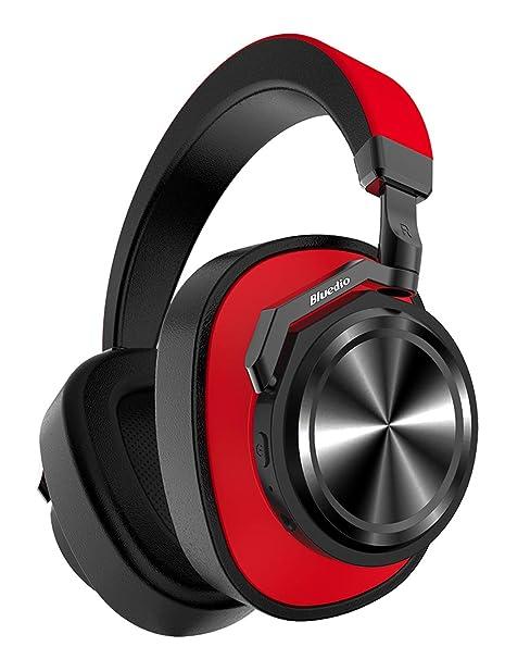 Bluedio T6 (Turbine) Auriculares Bluetooth 5.0, reducción Activa de Ruido, micrófono,
