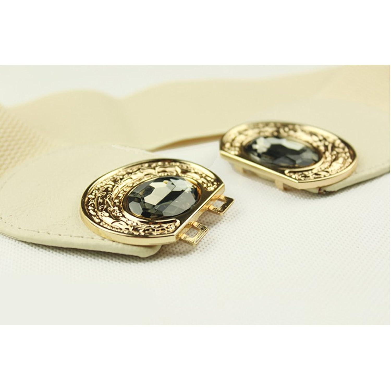 Sitong fashion glass diamond bow elastic wide girdle(4 colors)