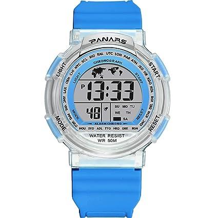 Saingace - Reloj de Pulsera Digital para niños, analógico ...
