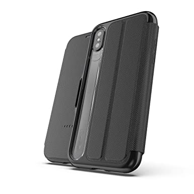 sneakers for cheap 68e24 c2240 GEAR4 Oxford Wallet Folio Case for Apple iPhone X / XS - Black