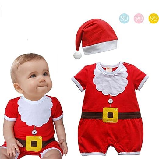 Outfit Unisex Navidad Niño - Cosplay Navidad Papá Noel Niños ...