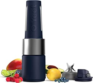 OYeet Personal Blender for Shakes and Smoothies 10 Sec Quick Nutrition Extractor 1000W Peak iF Design Award BPA Free Recipes Available (Prussian Blue)