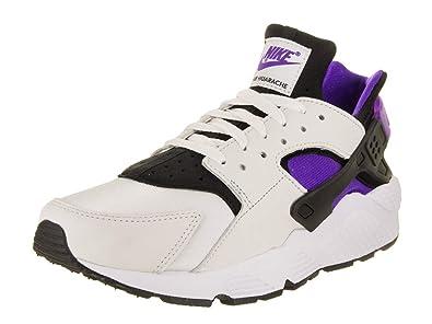 e65a2f3000944 NIKE Men s Air Huarache Run  91 QS Black Purple Punch Black White Running  Shoe