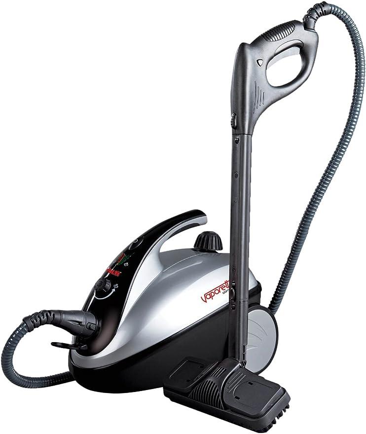 Polti Vaporetto Comfort Black Silver - Limpiador a vapor compacto ...