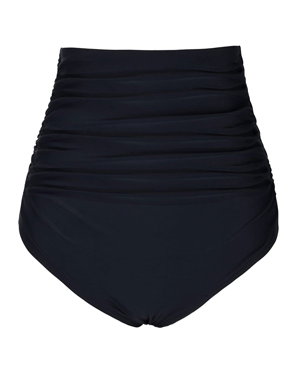 d726d9a144d Fully lined shorts and elastic waist. Full rear coverage. High waisted  offer moderate tummy control. Retro high-waisted bikini bottom flaunts a  flattering ...