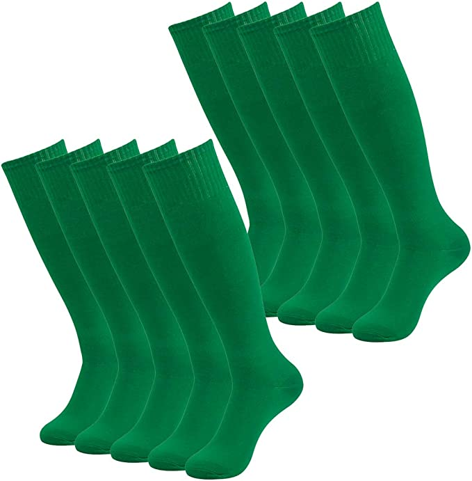 School Uniform Football Socks Unisex Youth Size 4-6 Soccer Hockey Rugby KneeHigh