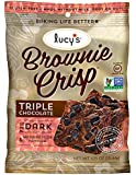 Lucy's Cookie, Triple Chocolate Brownie Crisp, 1.25 Ounce (pack Of 24)