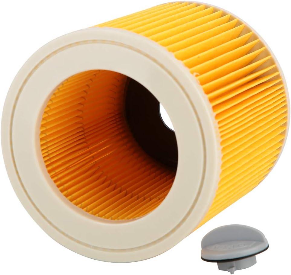 Ymiko Lock Wet And Dry Aspirapolvere Cartuccia del Filtro Accessori Adattatore Compatibile con Karcher A2004//2054//2204//2656