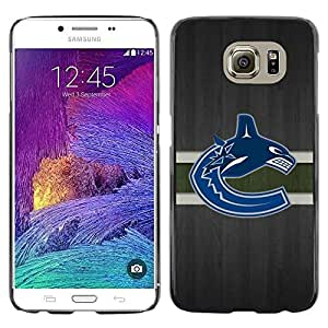 Impact Case Cover with Art Pattern Designs FOR Samsung Galaxy S6 Vancouver Canuck Ice Hockey Betty shop
