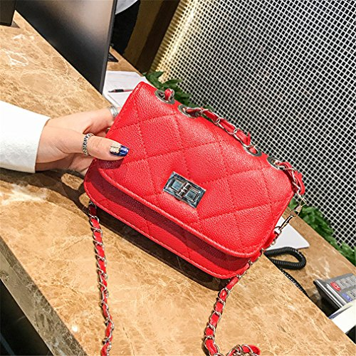 Bag Change Chain Diagonal Square Women Korean Cross Small Blue Shoulder Small Messenger Handbag 4gZUfHqw
