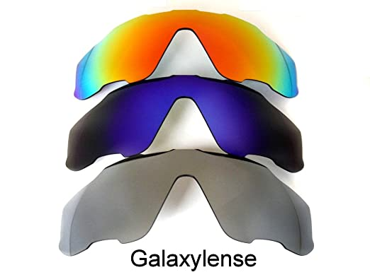 c47899aff3 Galaxy Replacement Lenses For Oakley Jawbreaker Polarized Titanium Blue Red  Multicoloured Size  Regular
