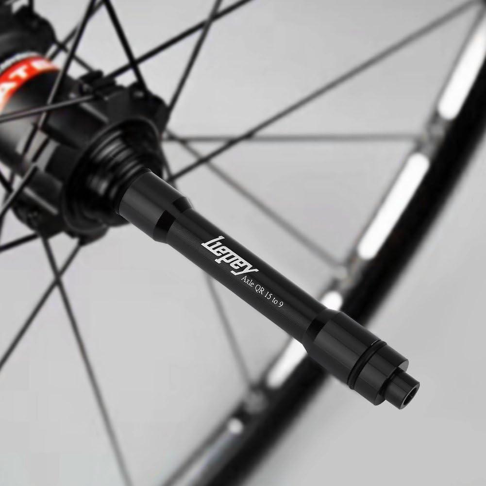MTB Road Bike Front Wheel 15mm to 9MM QR Skewers 15mm to 9mm Thru Axle B6G8