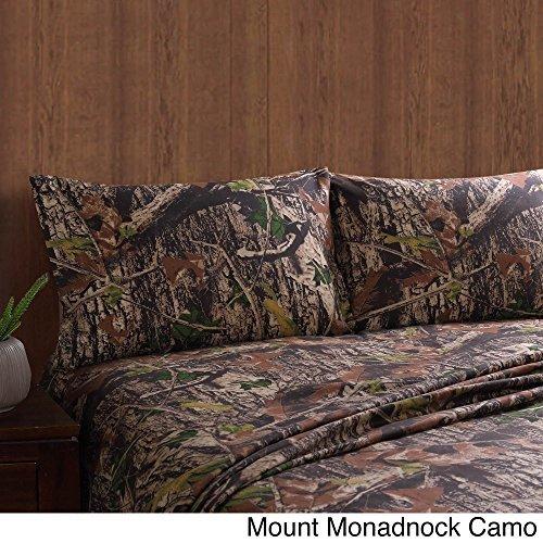 4-Pc Camouflage Sheet Set (Full)