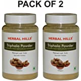 Herbal Hills Triphala Powder - 100g Each Bottle (Pack of 2)