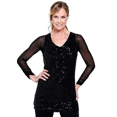 391d05c0336 Mingfa Women Mesh Crop Top Shapewear Underwear Seamless Arm Shaper Pleated  Long Sleeve Both Side Wear
