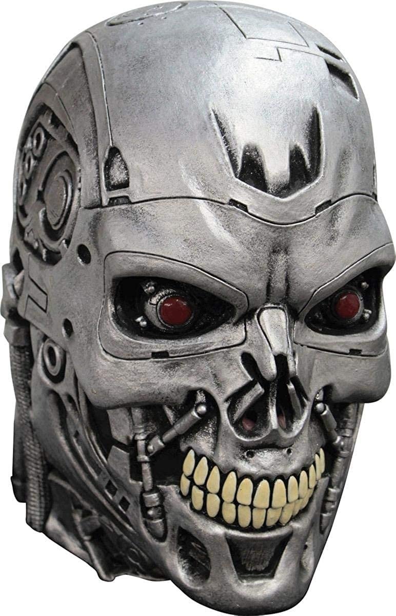 Terminator Endoskull Mask Adult Costume for Halloween Party