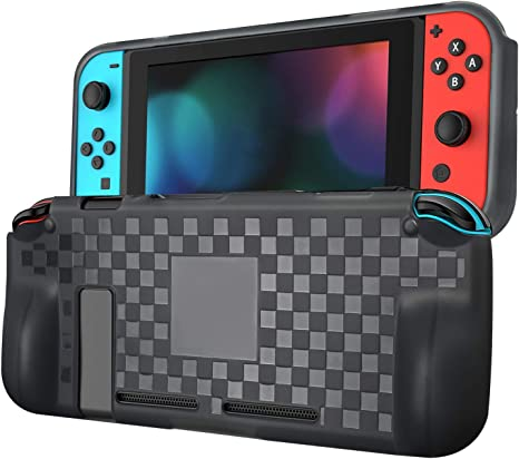 ykooe Nintendo Switch Case Crystal Clear gris: Amazon.es: Videojuegos