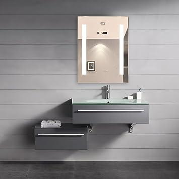 Dimmable Illuminated Bathroom Mirror Verano 24 X 32 In By IB MIRROR