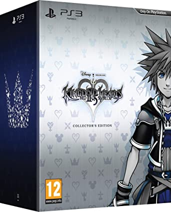 Kingdom Hearts Hd 2 5 Ii 5 Remix Ps3 Collectors Edition Amazon De Games