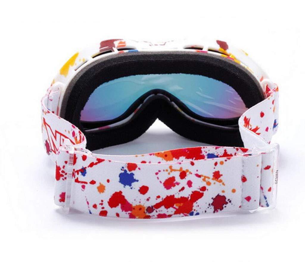 JSHFD OTG Skibrille, 100% 400UV Schutz Schutz Schutz Anti-Fog Männer Frauen über den Brillen Snowboardbrillen Multi Funktion (Farbe   B) B07MPPF5YZ Skibrillen Großhandel 3735b7