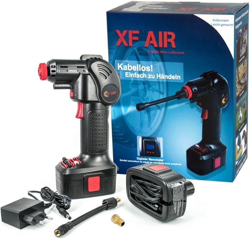Bomba de aire KN-TECH XF Air con bater/ía y adaptador de coche