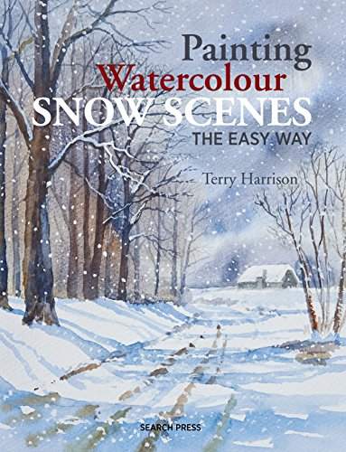 Painting Watercolour Snow Scenes the Easy Way (How To Draw Snow With Oil Paints)