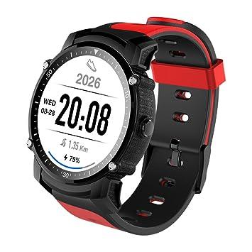 Reloj inteligente Bluetooth con múltiples modos de deportes Grabación, impermeable Reloj inteligente con monitor de frecuencia cardíaca Natación inteligente ...