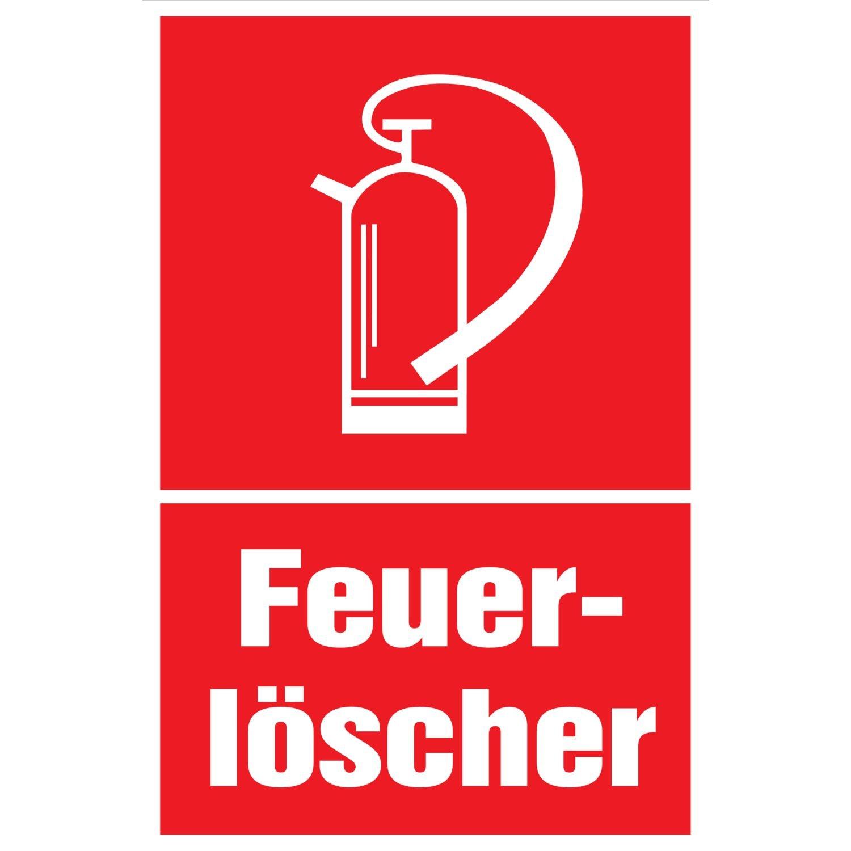 Protección contra incendios Cartel extintor | Símbolo ...