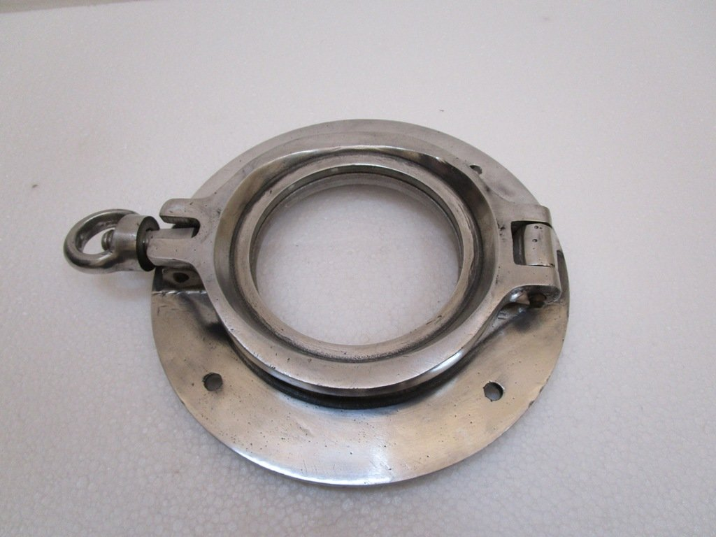 Brass Blessing Marine Port Hole//Window Nautical//Boat//Navy//Yacht TOUGHENED Glass Porthole