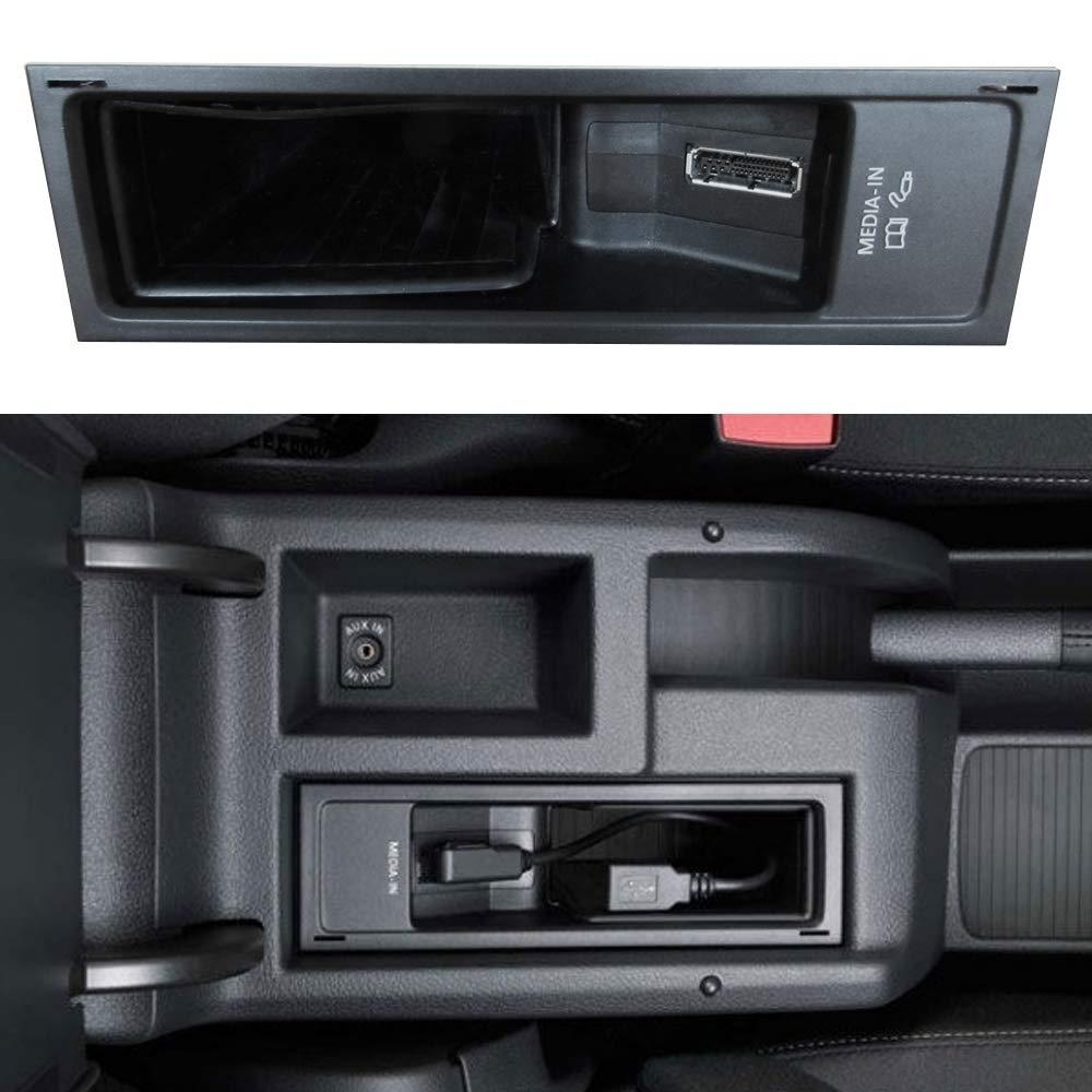 Bluetooth Cable adaptador para Audi AMI, por ejemplo A5 A6 A7 A8, Volkswagen MDI (con medios) por ejemplo Golf V/VI/Touran/Skoda Columbus con navegación: ...