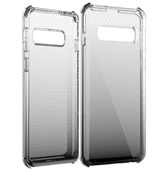 Ballistic Jewel Spark Series - Samsung Galaxy S10 - Slim Sleek Gradient  Six-Sided Impact Absorption 6ft Drop Test Certified Case Reinforced