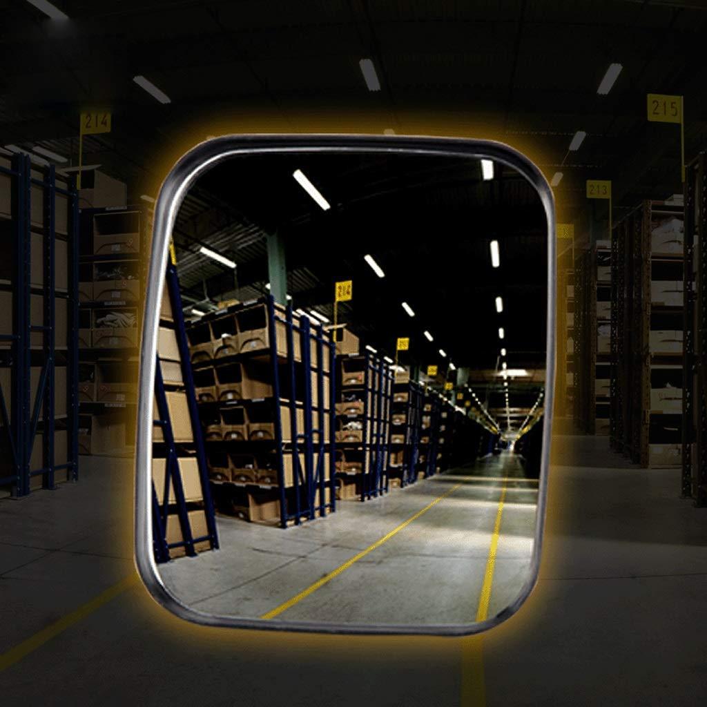 Taille: 16x19cm WYJW Rectangulaire Rectangulaire Trafic Trafic Miroir Supermarch/é Surveillance Garage Renversant Miroir 16x19cm Miroirs De Tache De Store