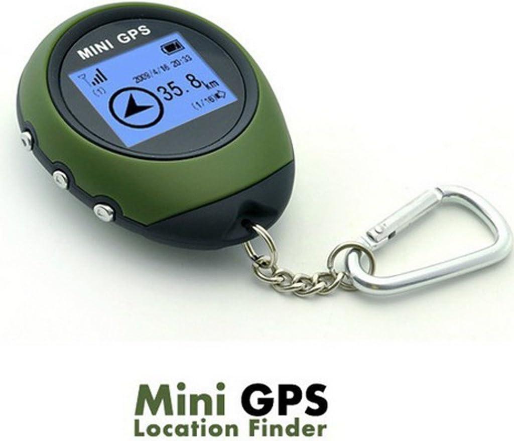 Winterworm al Aire Libre Mini Handheld Portable buscador de ubicación de navegación GPS Pantalla de Matriz de Puntos para Ciclismo de Senderismo geoaching Wild exploración