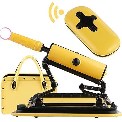 5af6916d751d Amazon.com: LLMLCF Portable Automatic Fucking Machine Dildo for ...