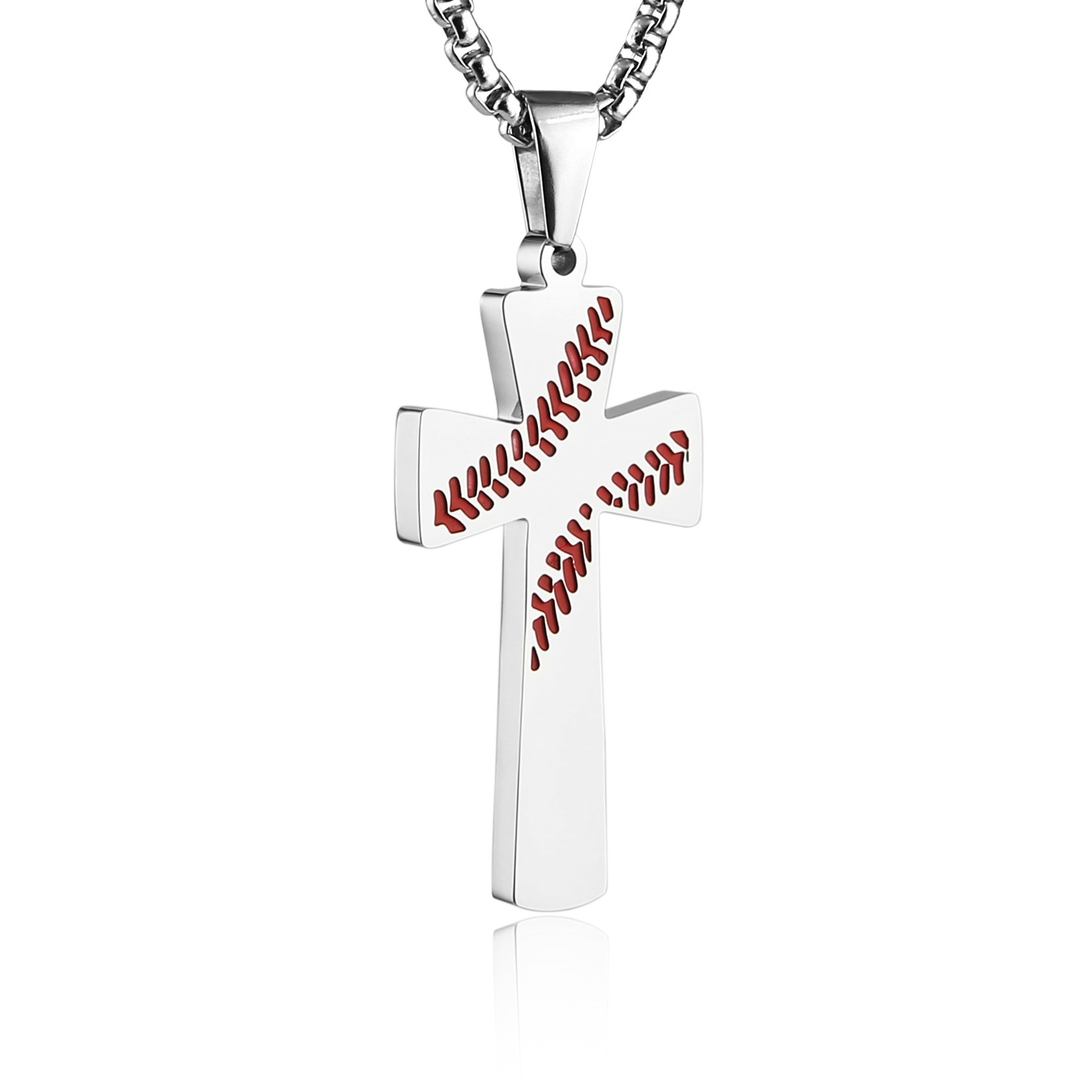 baseball tone and crystal pammyj products pendant glove necklace two
