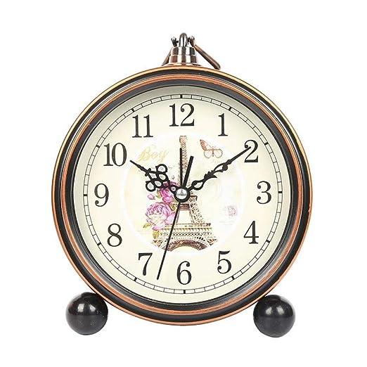 Reloj Retro Reloj Asiento Sala De Estar Mesa Gabinete Reloj De ...