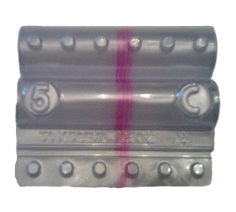 Blister per monete euro - Kit 100 blister portamonete da 5 centesimi Iternet
