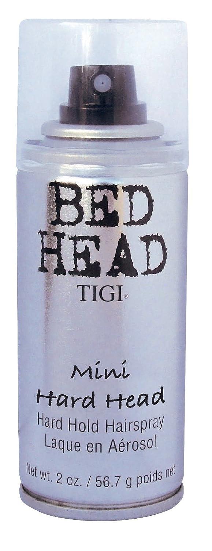 Bed Head Hard Head Strong Hold Hairspray Mini 101ml TIGI Linea 140567
