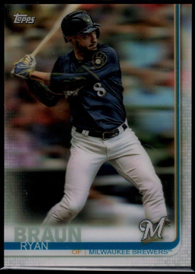 2019 Topps On Demand 3D Baseball #614 Ryan Braun Milwaukee Brewers Official MLB Trading Card Limited to under 600 made