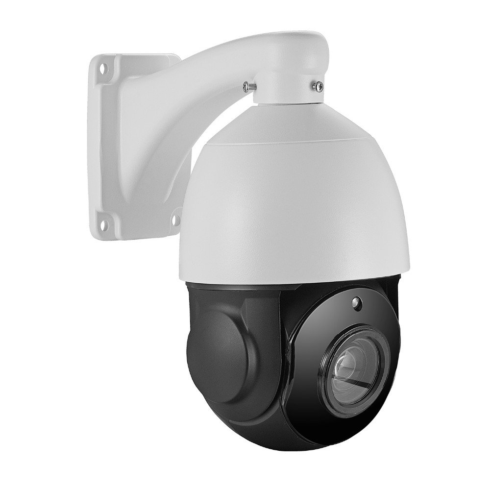 Outdoor 4.5inch PTZ 5MP IP POE Security Camera Pan Tilt 20x Optical Zoom Speed Dome, 200FT IR Night Vision Motion Detection Remote View RTSP Support AT-500PE20